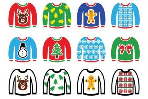 Christmas jumper at Happy Kids preschool nursery manchester and rotherham