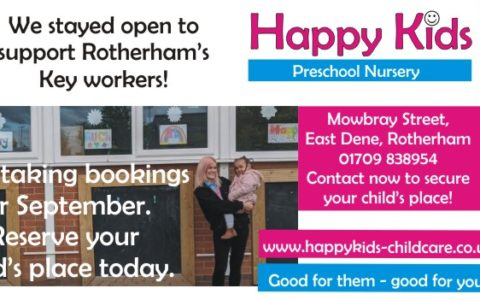 Covid 19 Key workers, Rotherham day nursery