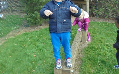 Boy at Happy Kids Thrybergh, Rotherham